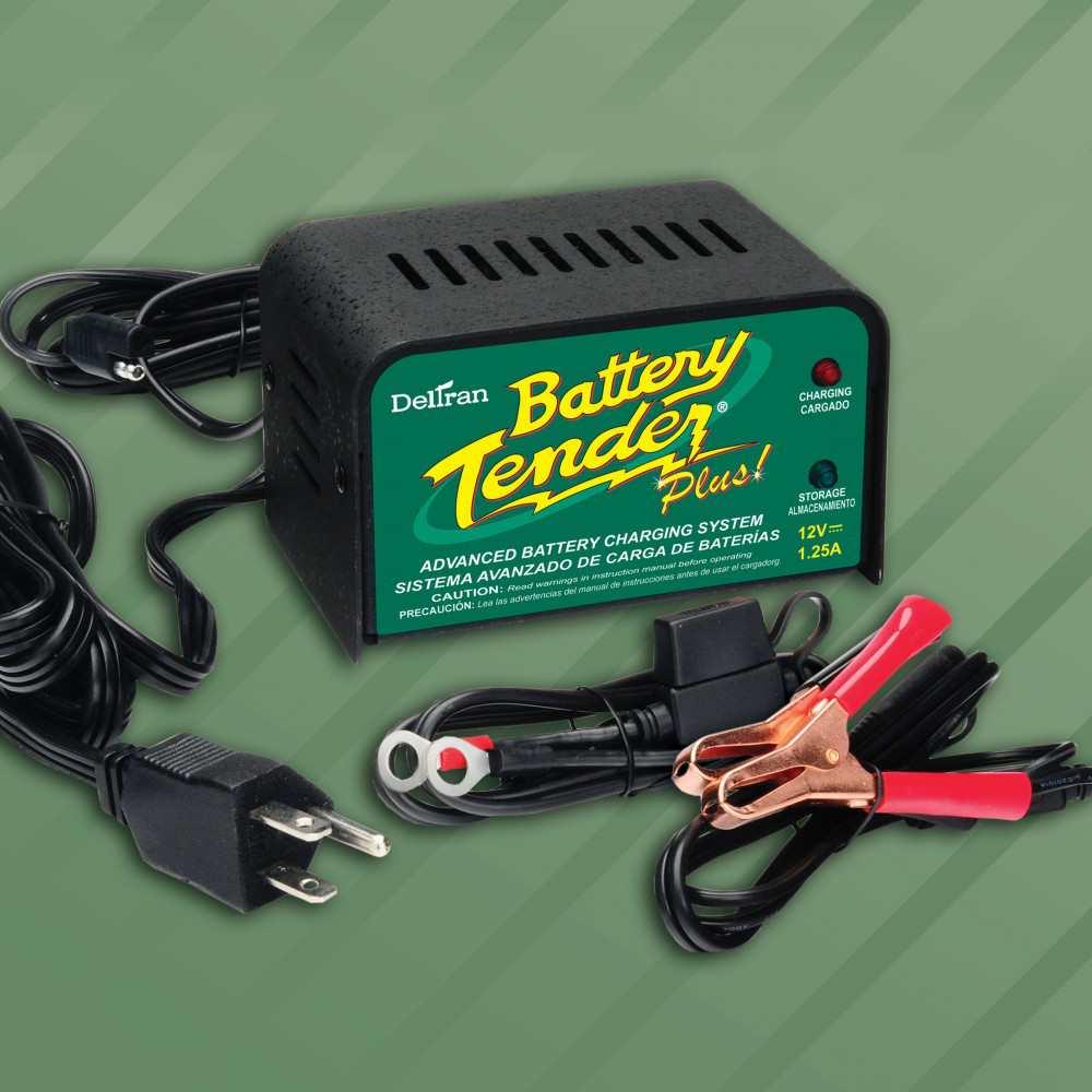 Battery Tender Plus Advanced Battery Charging System 12v